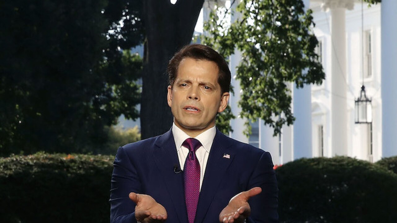 Scaramucci cancels plans to speak to media