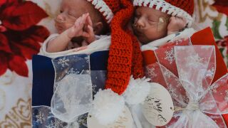 Photos: NICU babies dressed up as presents for Christmas at Children's Hospital Colorado