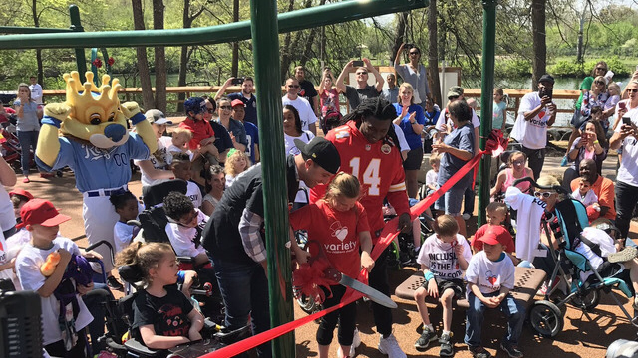 Zoo makes history with all-inclusive playground
