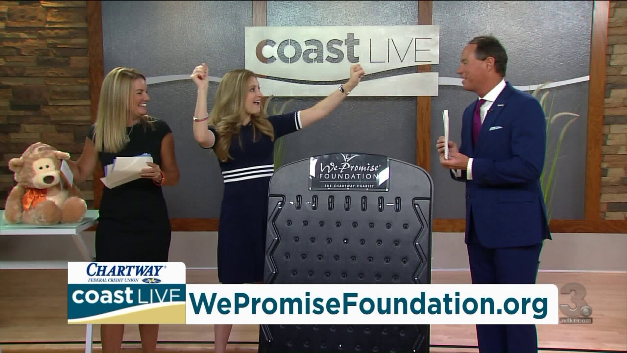 How to help the We Promise Foundation help kids on Coast Live