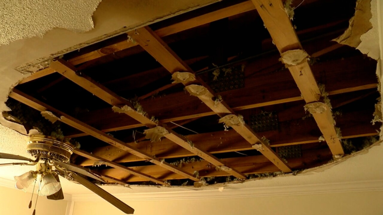 Clearwater condo building roof collapse