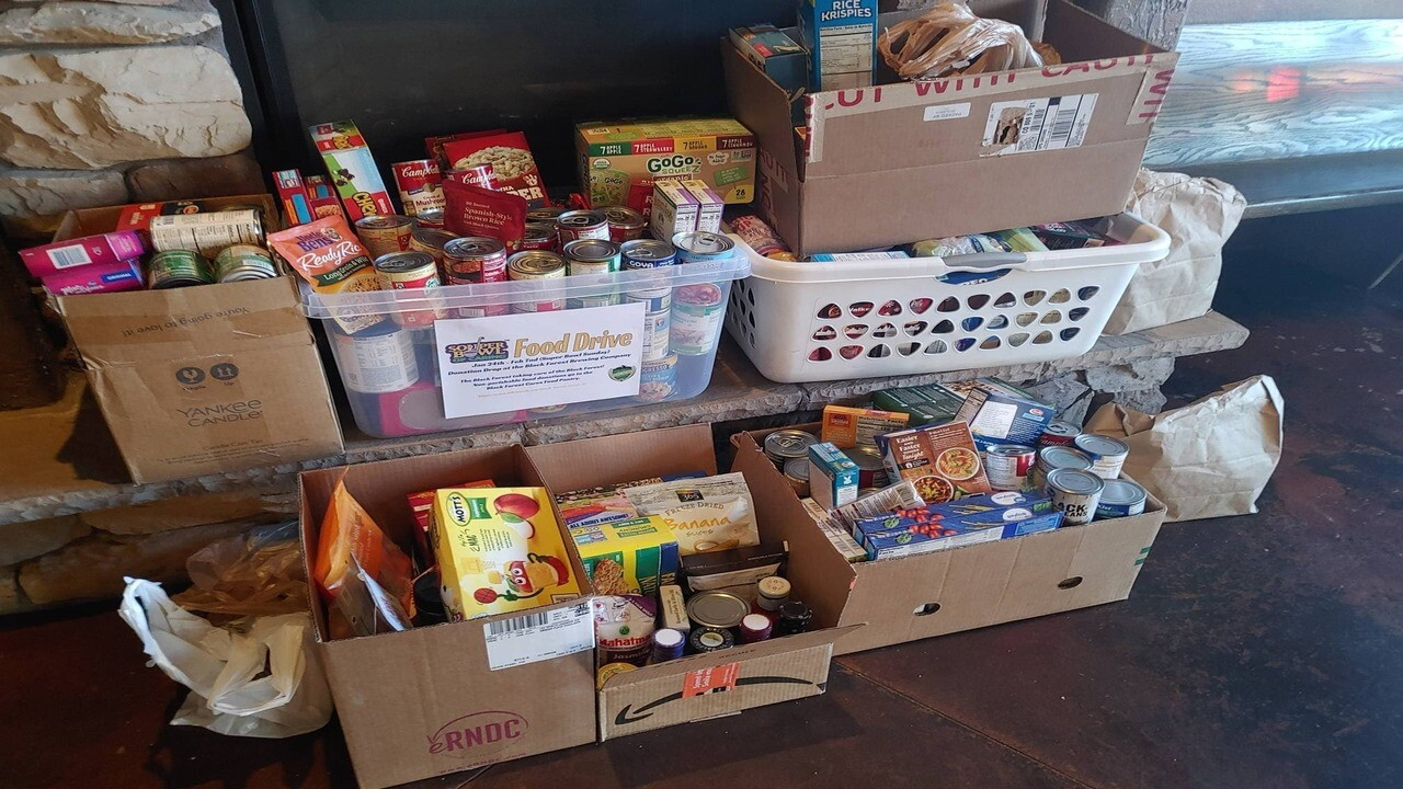 'Souper Bowl of Caring' food drive asking for donations to help Black Forest Cares pantry