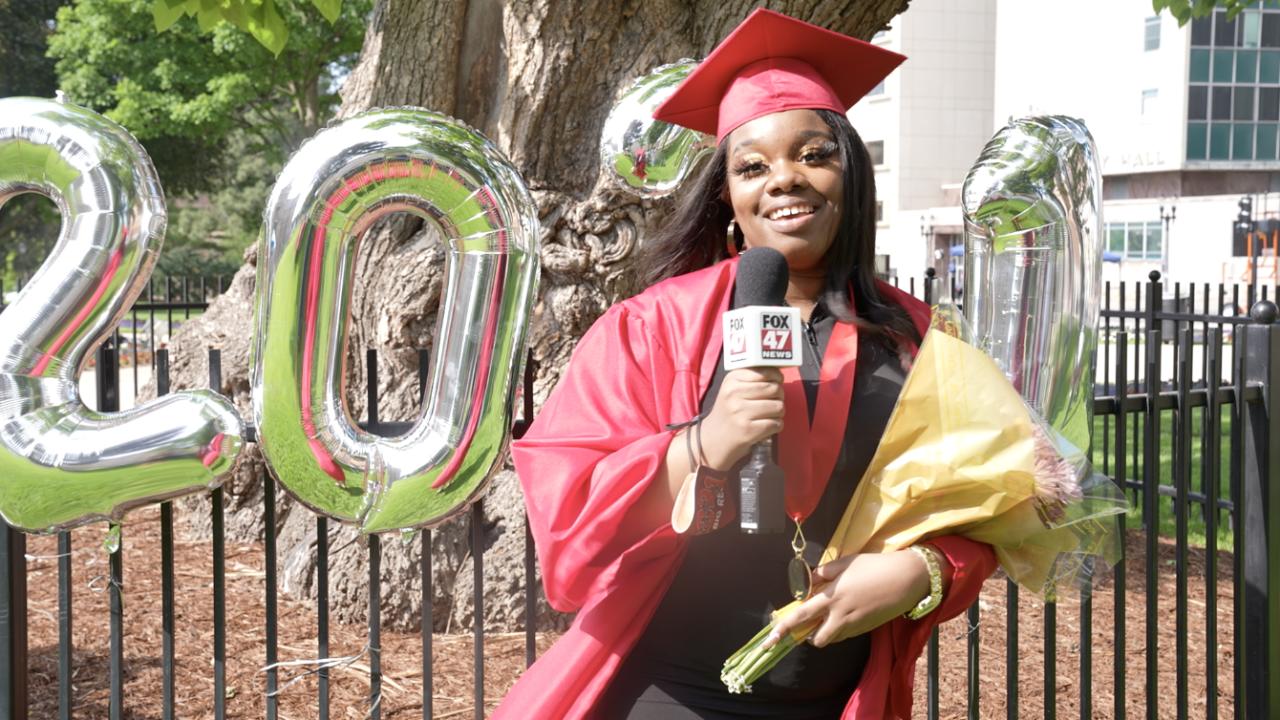 Ayanna Jackson, J.W. Sexton High School Graduate