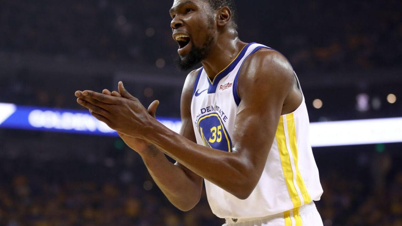 Report suggests Kevin Durant will rejoin the Warriors for Game 5