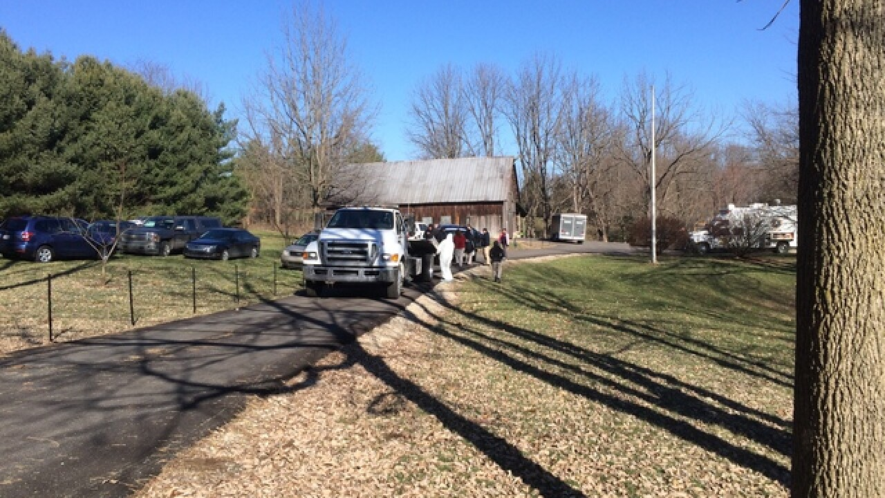 FBI investigating house in Martinsville