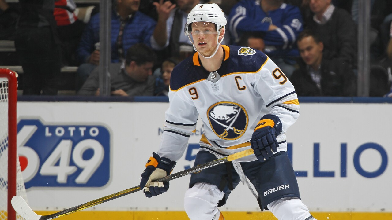 Sabres' Jack Eichel to participate in Bridgestone NHL Fastest Skater competition