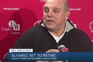UW-Madison Athletic Director Barry Alvarez to retire June 30