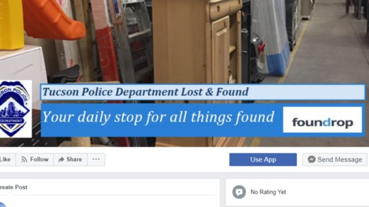 TPD creates online, easy-to-use Lost & Found