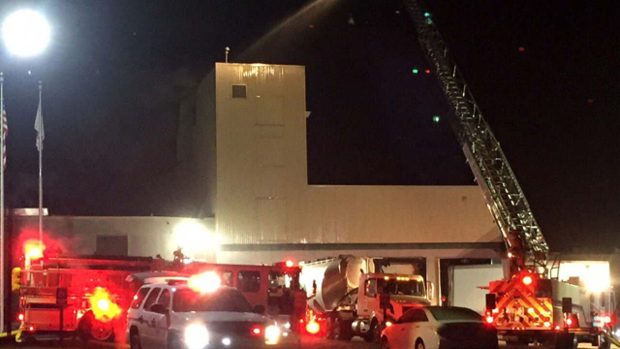 Fire, blast at Erlanger candy factory