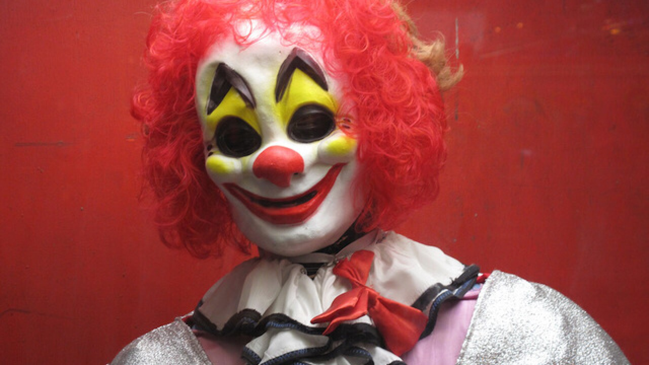 Creepy clowns are scaring people in multiple states