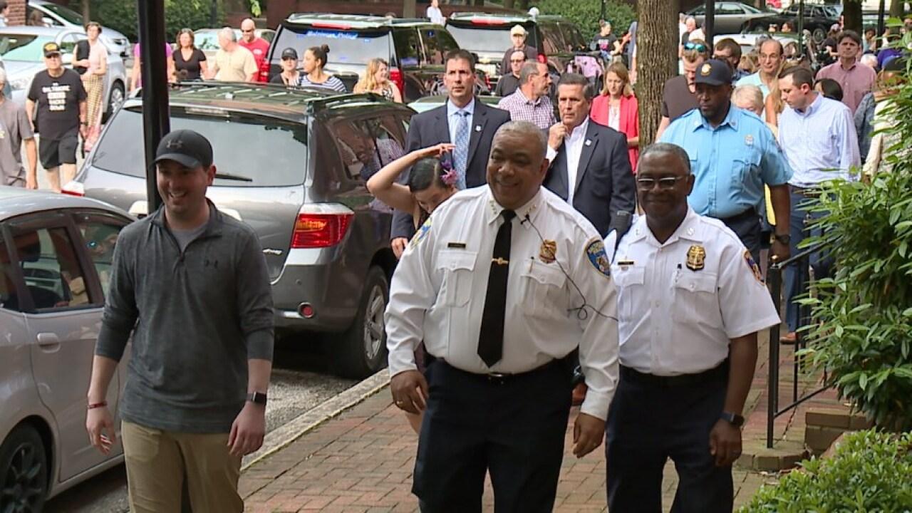South Baltimore crime walk