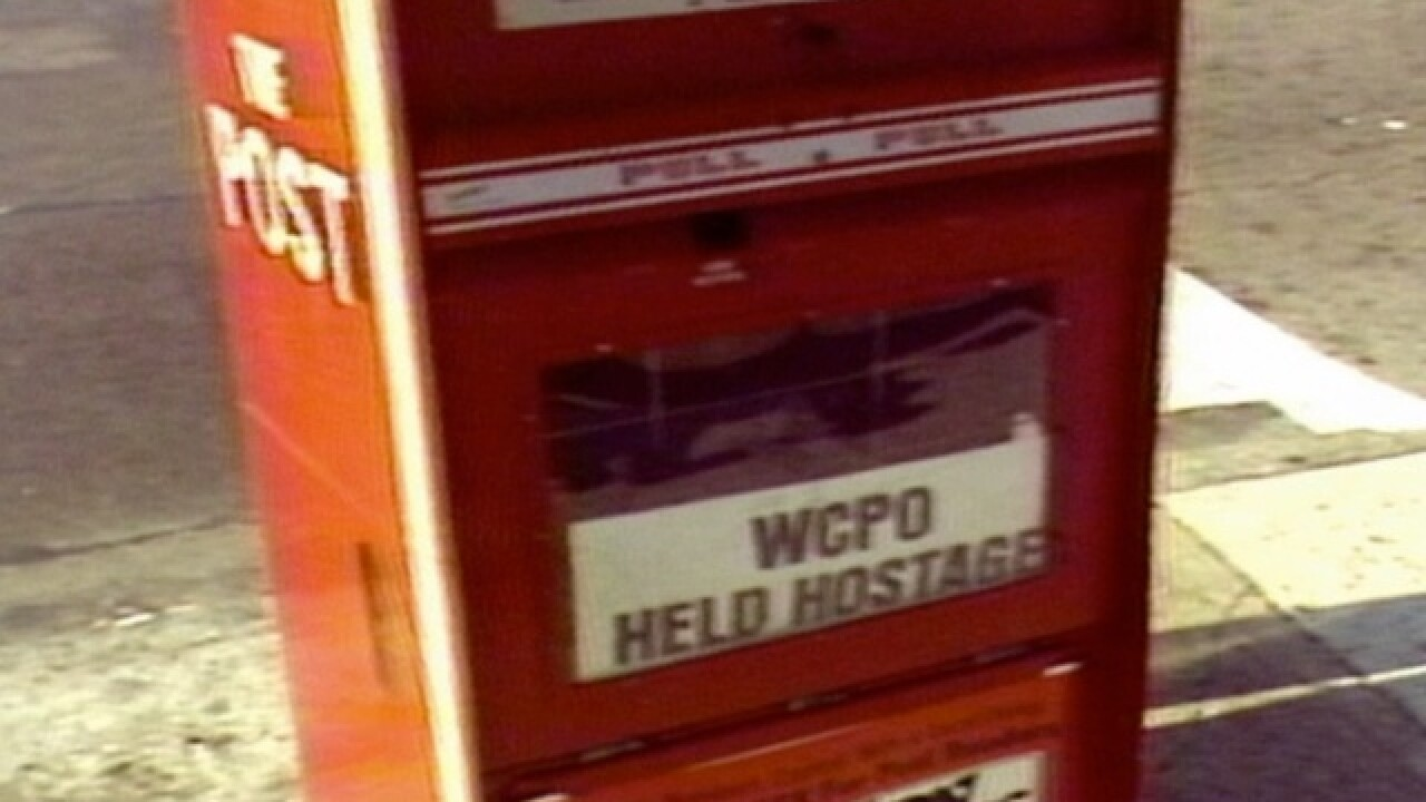 VIDEO: The day WCPO's newsroom was held hostage