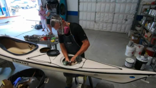 Kayak repair shop draws customers from all across the map