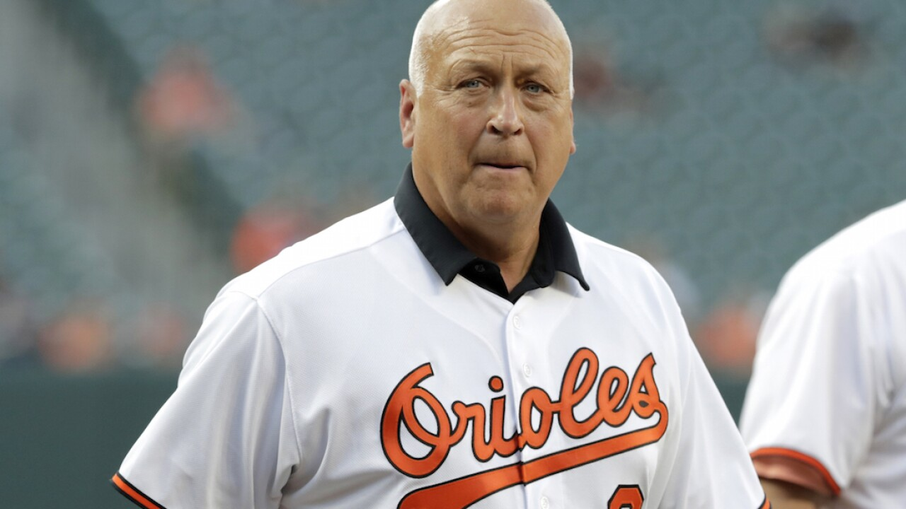 Cal Ripken says he's cancer-free after March surgery