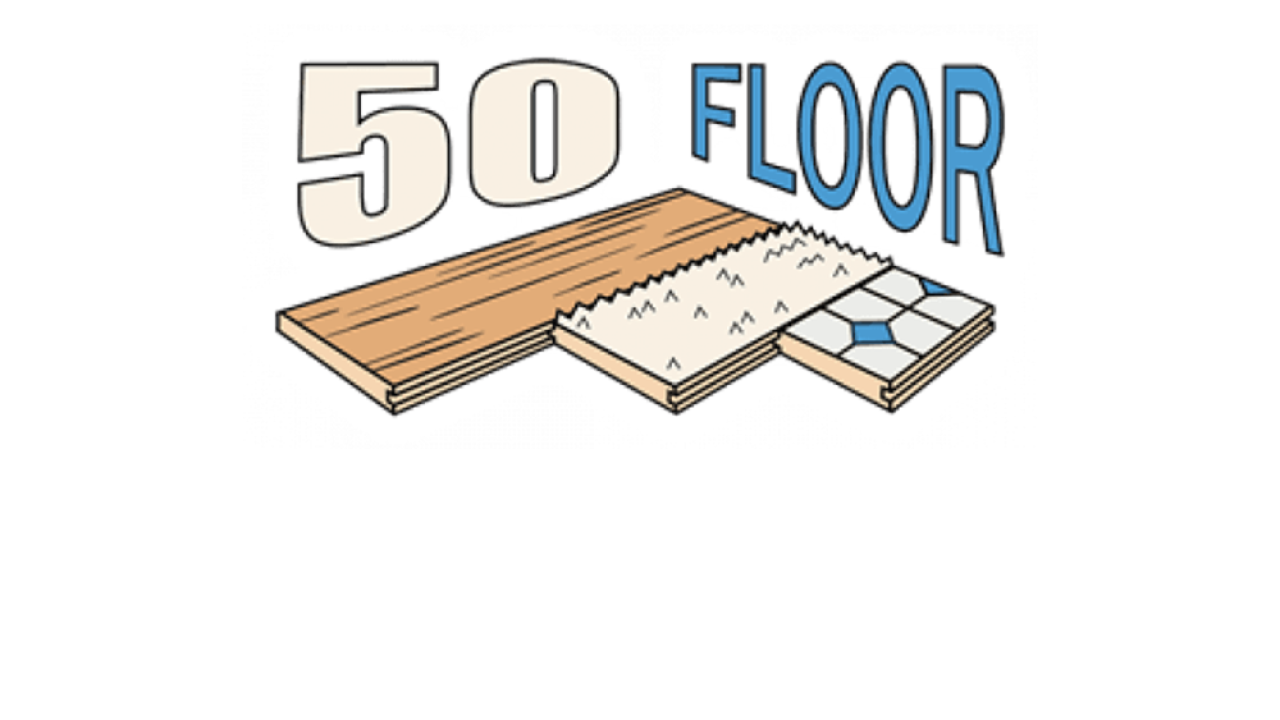 HomePros 50 floor logo