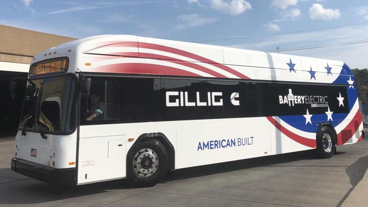 KCATA electric bus