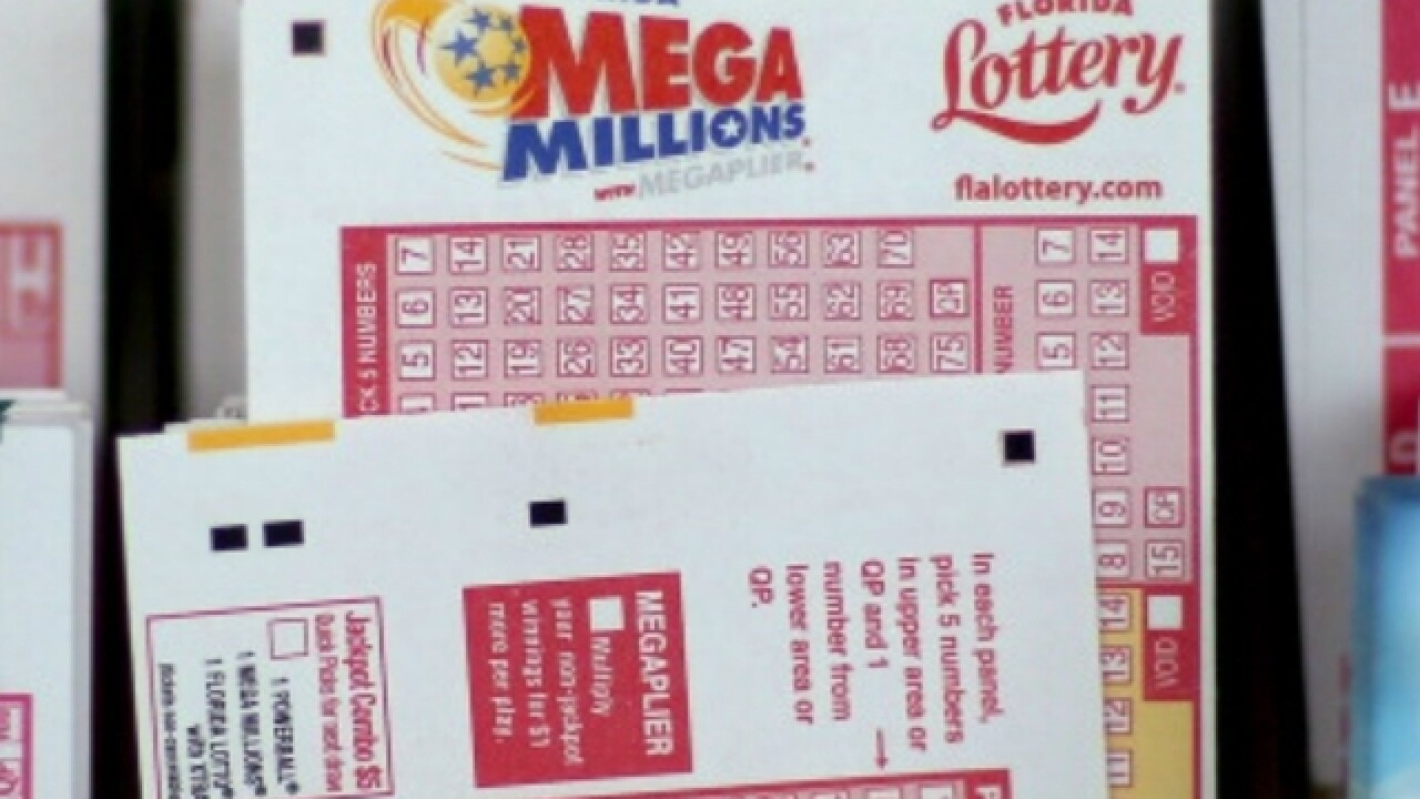 Numbers drawn for Tuesday's massive Mega Millions drawing; at least 1 winning ticket sold