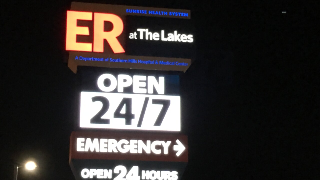 A Las Vegas family says they went to a stand alone emergency room for a minor procedure and left with a big bill