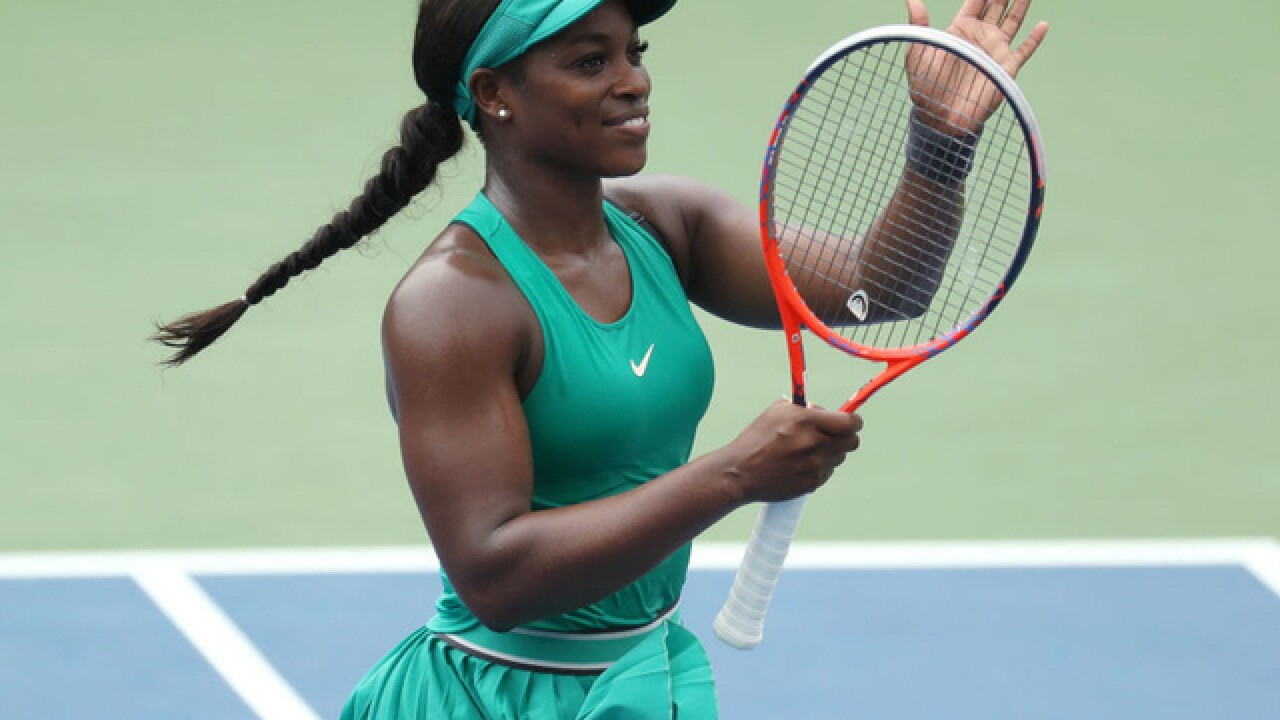 US Open champ Stephens wins Cincy opener