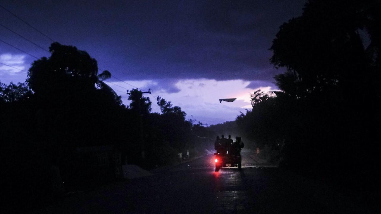 Haiti Tropical Depression Grace