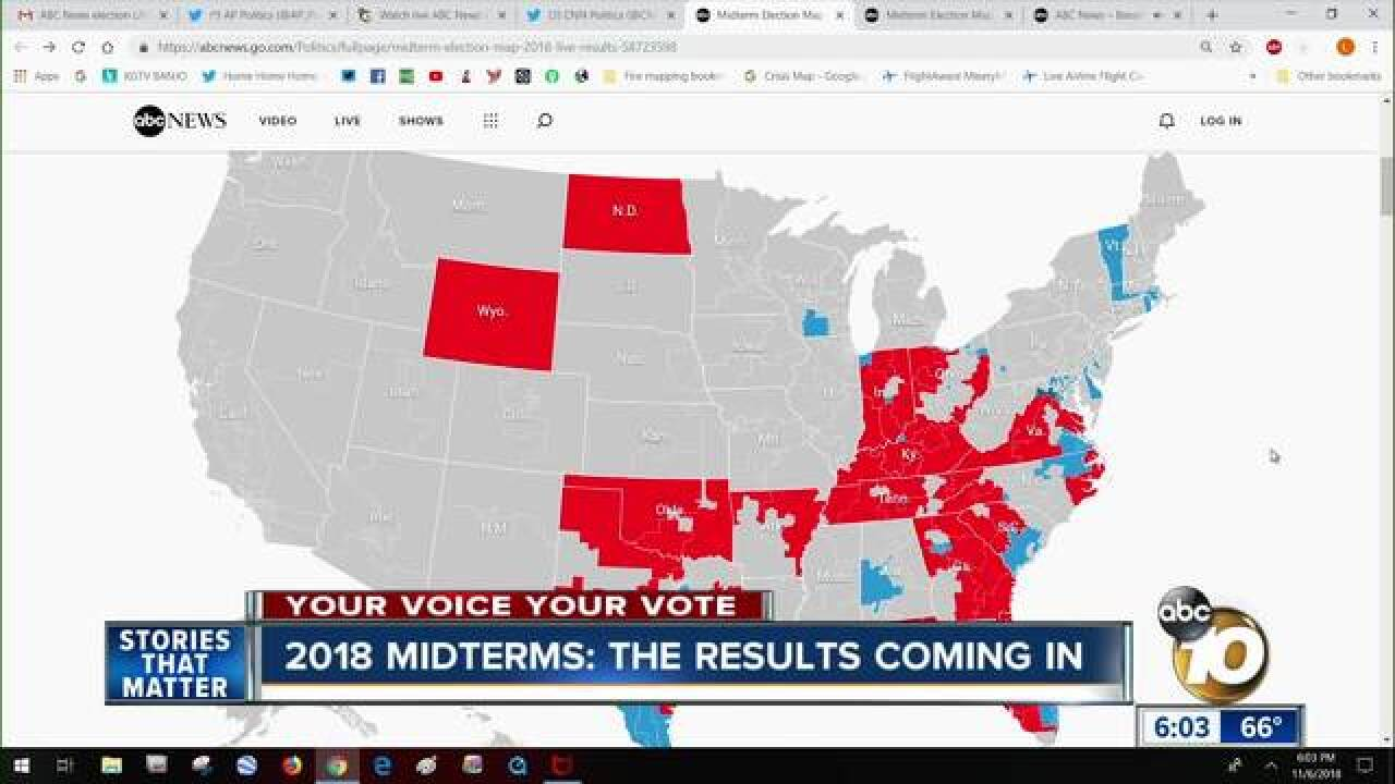 WATCH LIVE ELECTION 2018 COVERAGE from ABC 10News