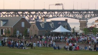 Yorktown celebrates America's birthday with a waterfront party