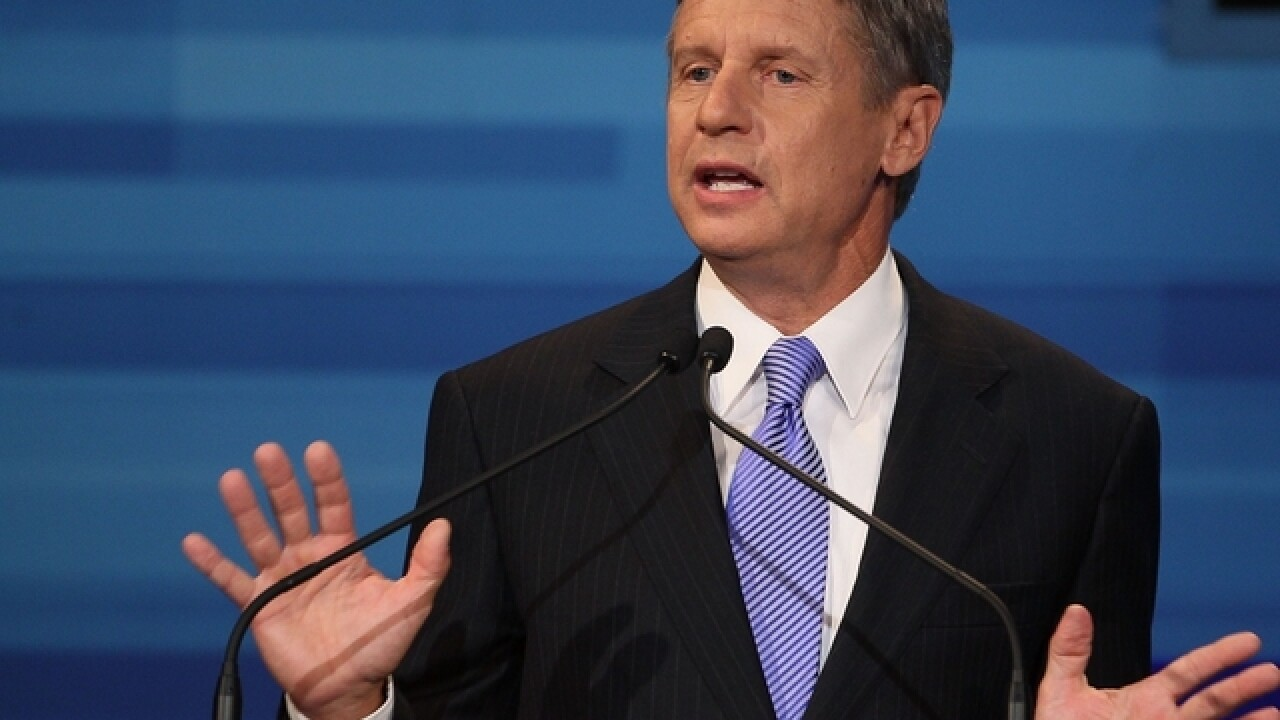 Gary Johnson's ballot access uncertain in battleground Ohio