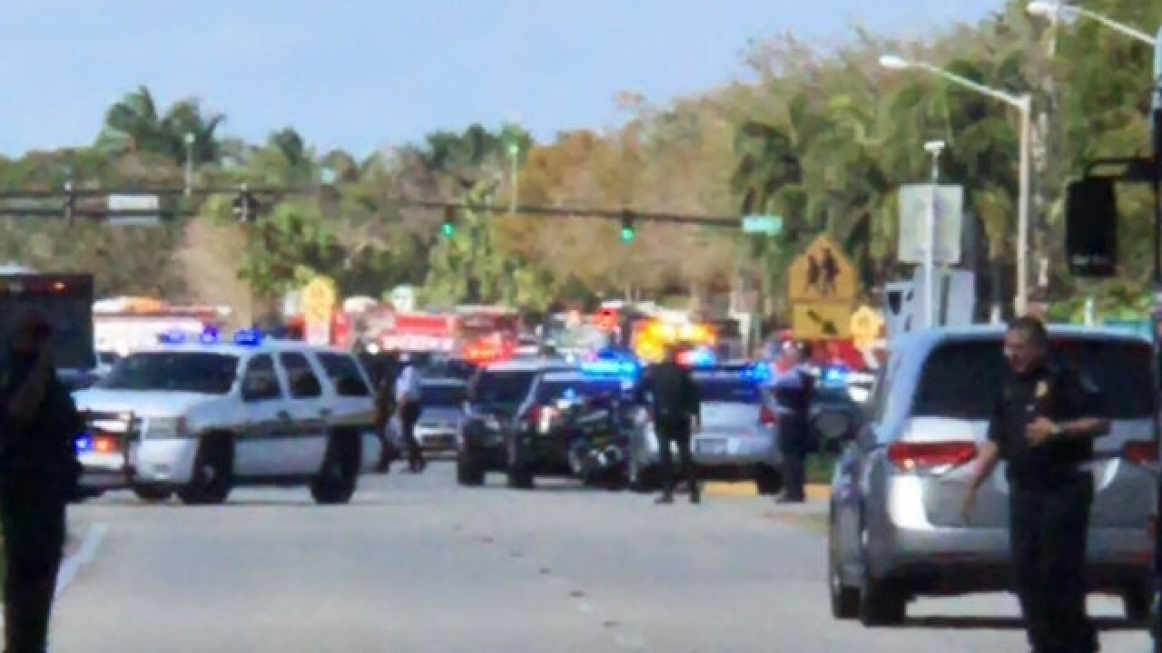 Shooting reported at high school in Florida