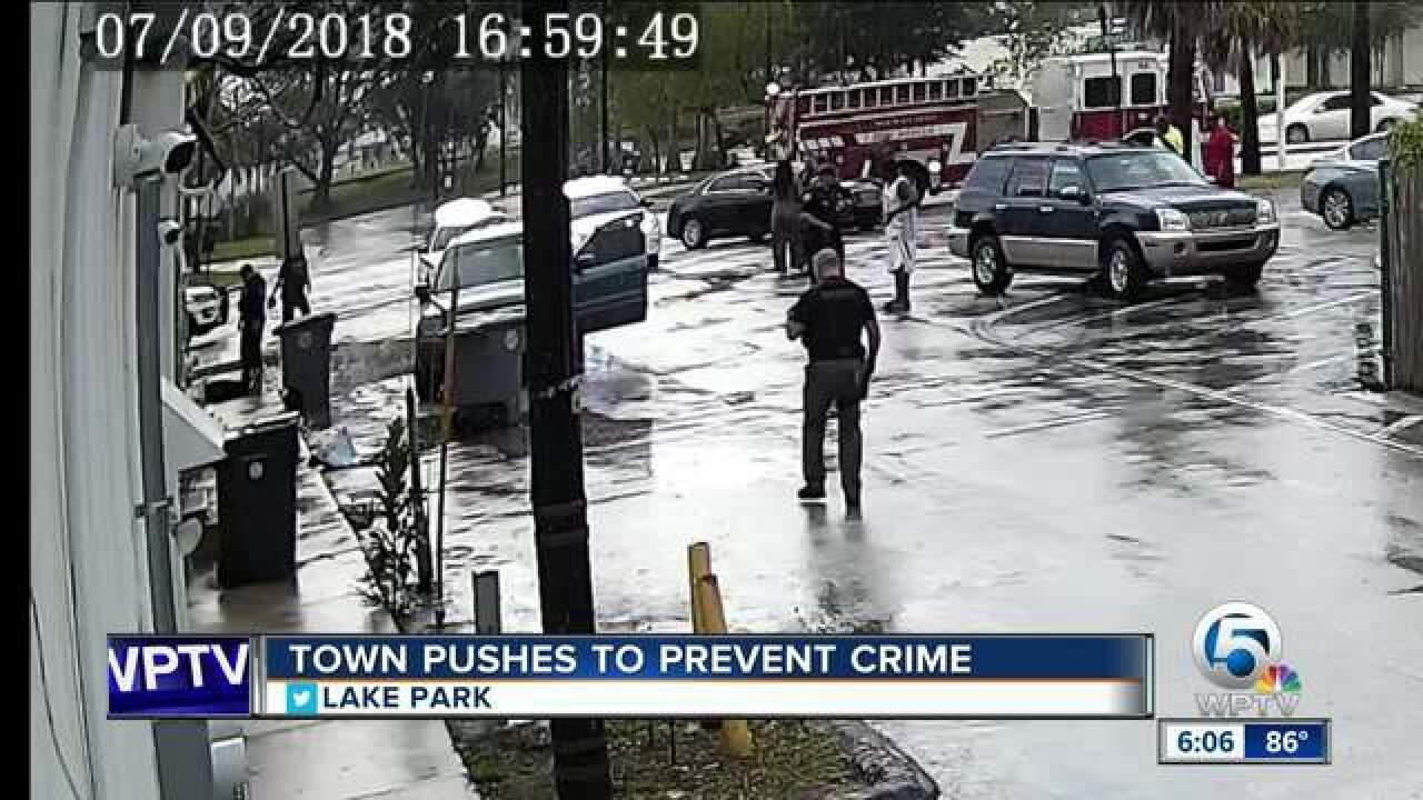 Lake Park cracks down on crime