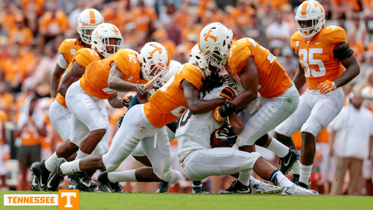 Chandler's Big Day Helps Tennessee Trounce UTEP 24-0