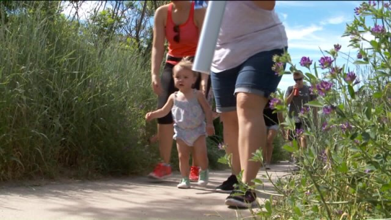 'Climb out of Darkness' hike offers support for moms facing postpartum depression