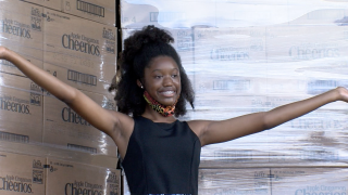 General Mills rewards teen collecting food for community by donating 48,000 boxes of cereal