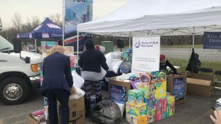 Community helps ABC2 fill the House of Ruth for the holidays