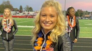 Ohio cheerleader opens eyes, moves hand after 3 weeks in coma