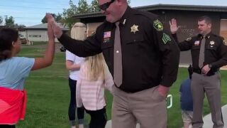 Deputies thank students for their support