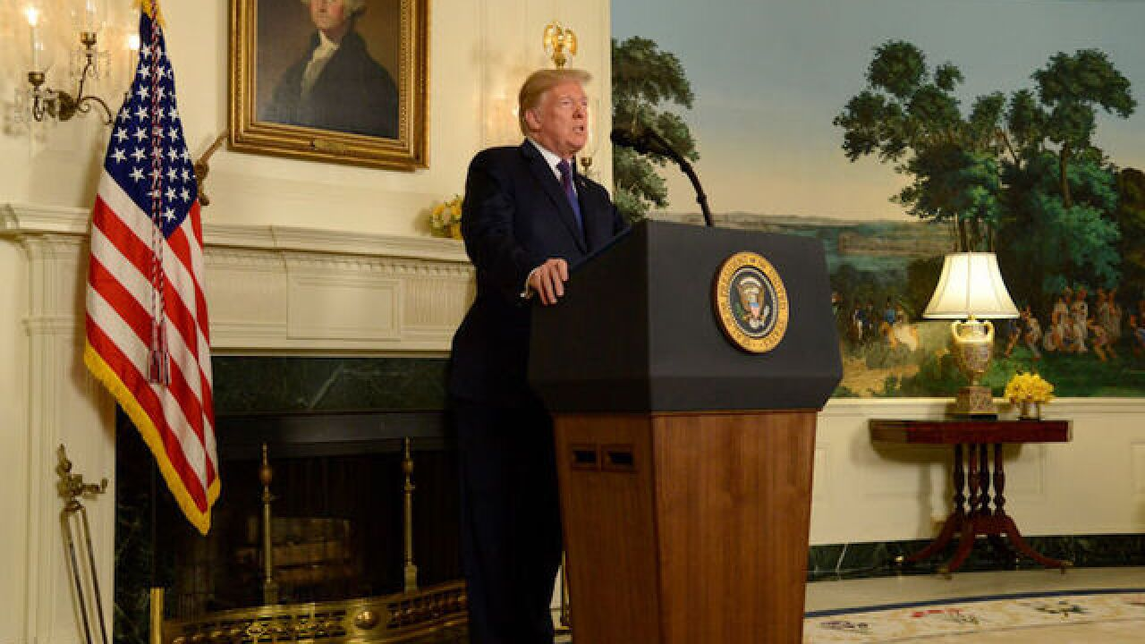 Trump to deliver statement about Syria