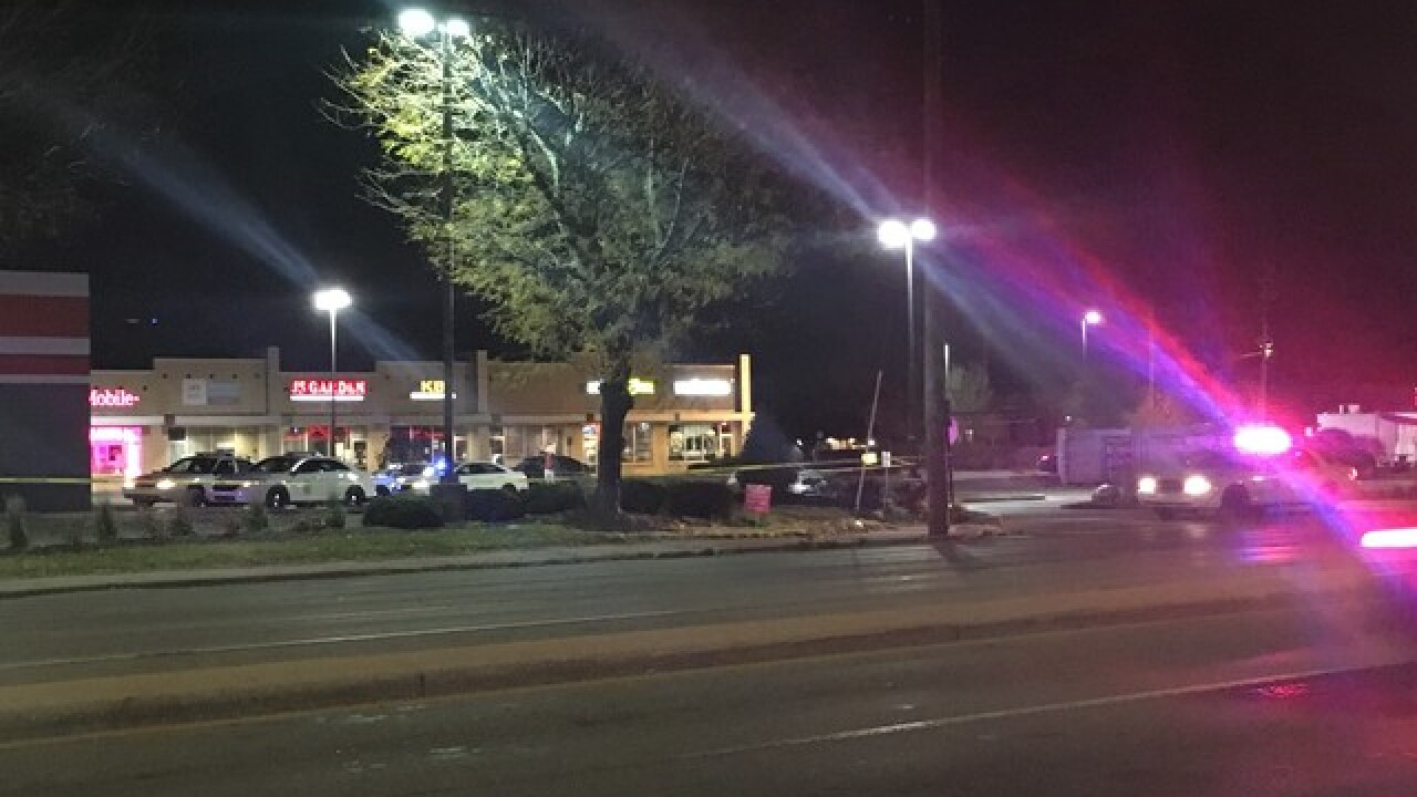 Officer-involved shooting on Indy's north side
