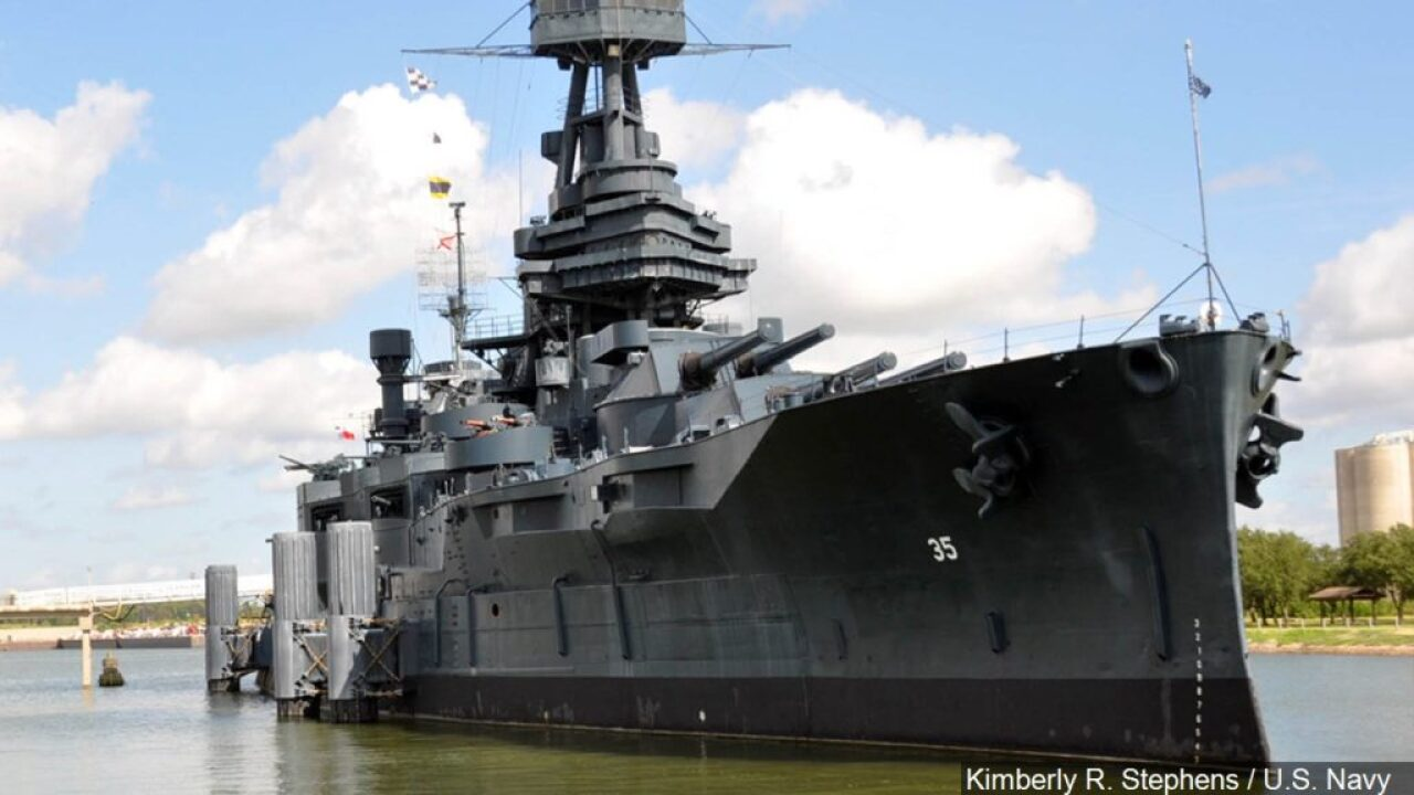 Visits limited at leaky Battleship Texas before $35M repairs
