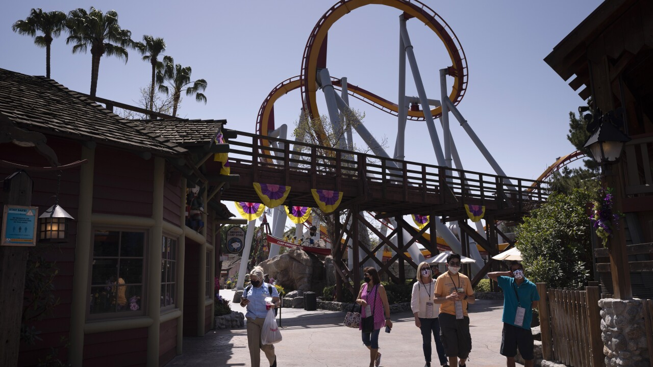 Knott's Berry Farm Theme Park