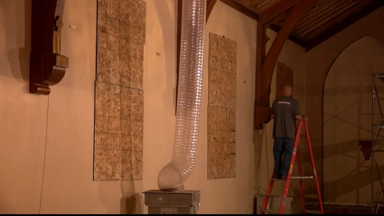 Renovations begin on Kalispell's historic St. Matthews Church
