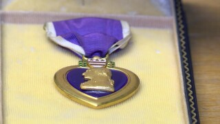Trying to find the owner of a Purple Heart medal that was saved from the trash