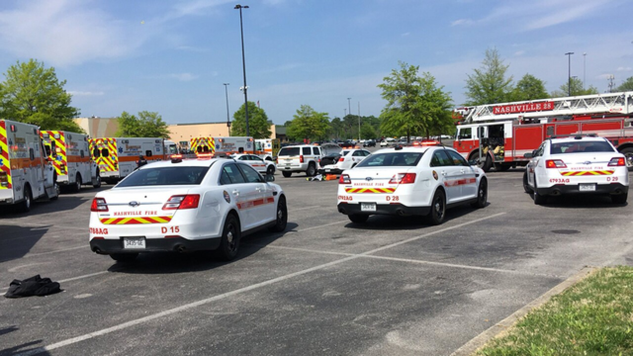 Police Respond To Shooting At Opry Mills Mall