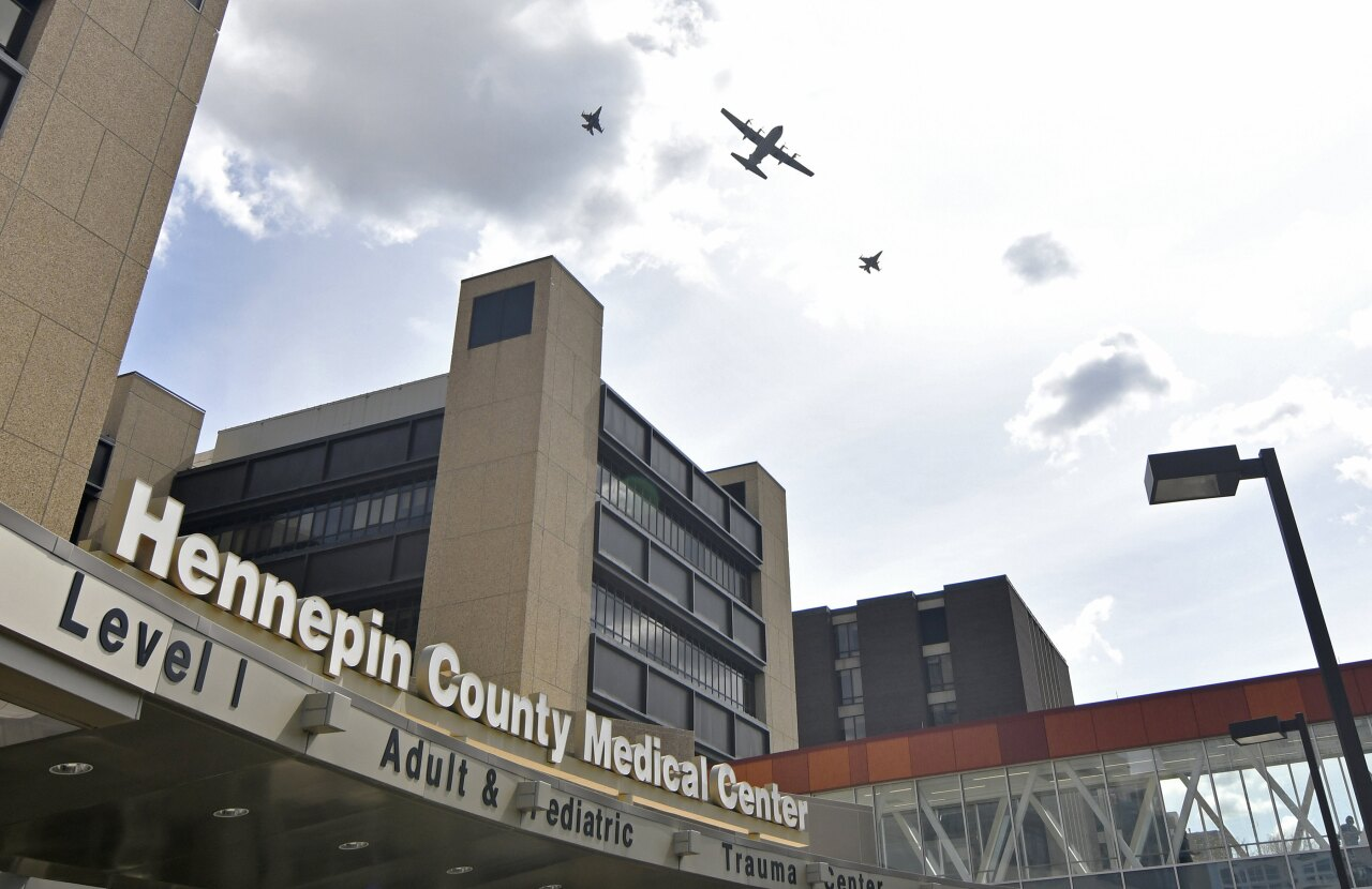 Hennepin County Medical Center, May 2020