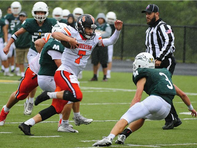 King of the Hill: Anderson 39, McNicholas 0