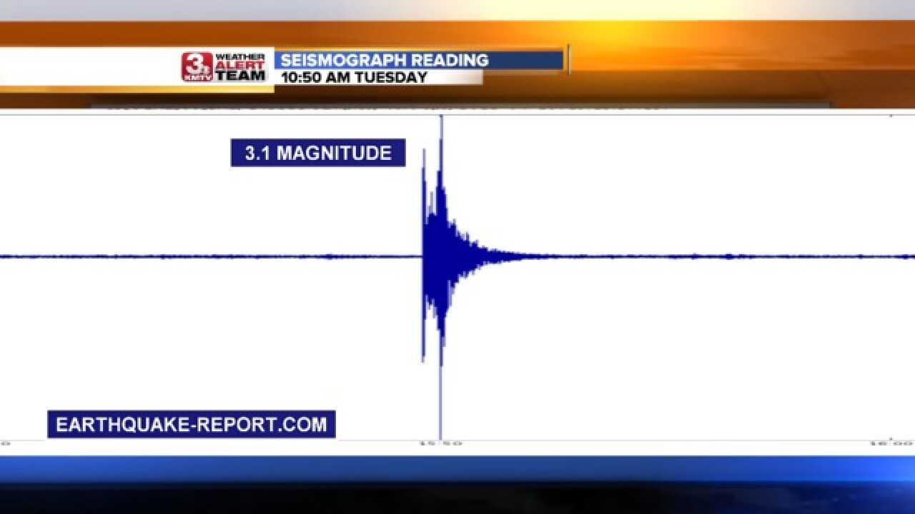 Four Earthquakes Shake Nebraska In Two Days