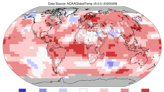 NOAA: January 2020 was Earth's hottest January on record