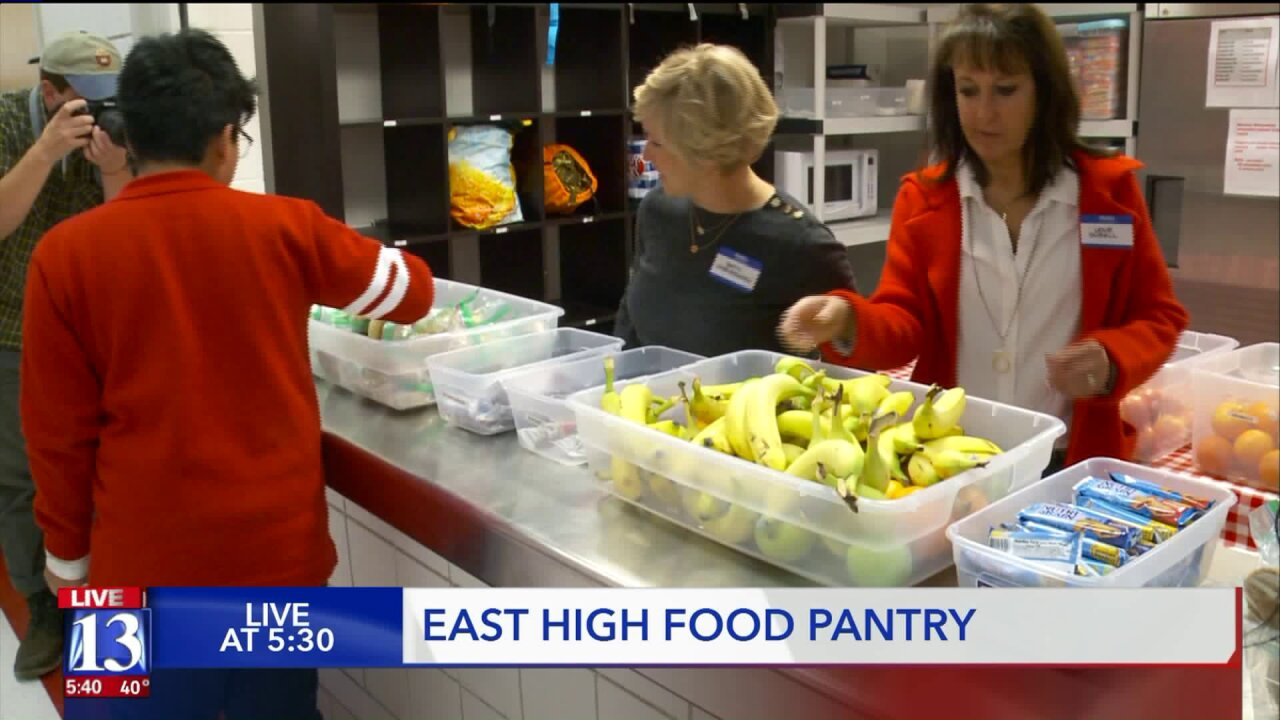 Major donation helps Utah high school students provide food for friends
