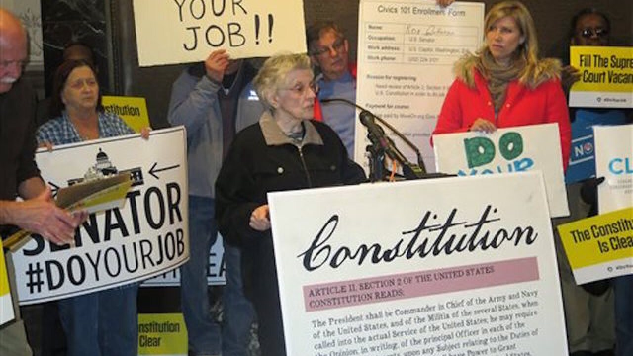 Rallies urge GOP senators to hold SC vote