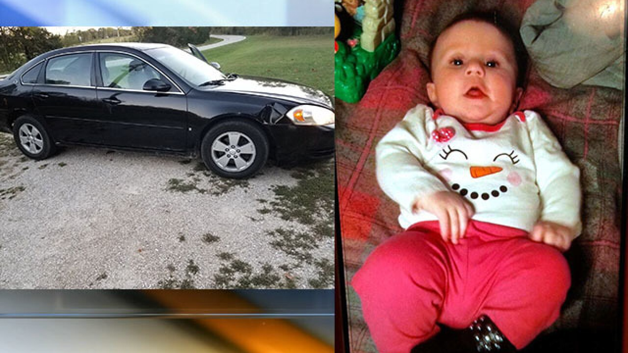 UPDATE: Rogersville Amber Alert cancelled, baby found safe