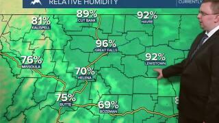 Temperatures Start to Rebound Today